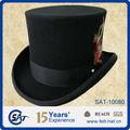 Baratos negro sombrero de copa/vintage sombrero de copa