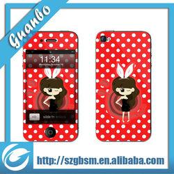 Free Sample customizable phone decoration sticker skin