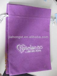 2013 new velvet gift bag drawstring embroidery