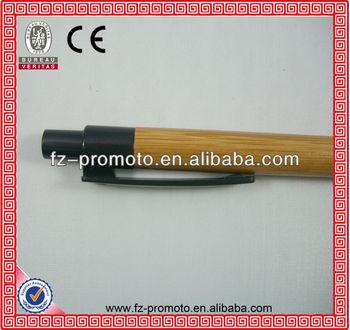 cheap bamboo pen advertising ballpen