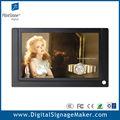 loja de varejo 7 pequeno polegadas monitor lcd de publicidade de exibição