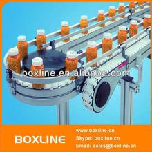 Automatic bottles transport conveyor system
