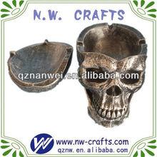 Custom resin halloween skull for home decoration and gift