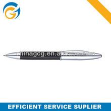 2013 Hot!Rubber Grip Silver Barrel Twist Metal Ball Pen
