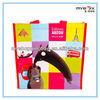 Eco-friendly China bag handbag shopping bag printing promo bag tote bag Recyclable reusable pp non woven bag laminated