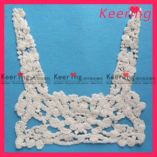 Knitted polyester lace collar lingerie WLS-394