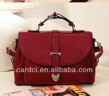 2014 The newest stylish Pu leather bag handbag manufacturer wholesale women bag
