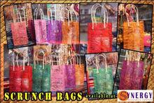 Abaca Scrunch Tote Bags
