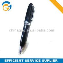 Classic Brand Black Barrel Metal VIP Gift Ball Pen