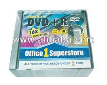 O1S 16x DVD-/+R Media, 4.7GB, 10pcs, Slim Case