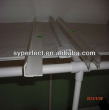 Custom plastic PC ABS PVC profile/PVC ABS PC extrusion profile