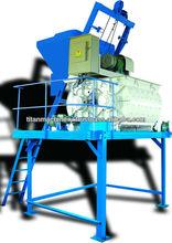 Double-shaft concrete mixer TITAN 750