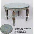2013 de metal vintage ronda de mesas de café