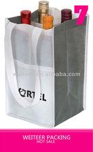 Hot Sale Gift Bottle Tote Bag