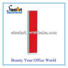 Hot sale environmental steel 2 door locker