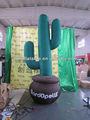 Heißer verkauf aufblasbarer kaktus für werbung/dekoration