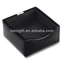 business card holder set, leather desk set holder
