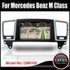 Original 7 inch in dash 2 din car dvd gps navi bluetooth touch screen head unit for mercedes benz M class