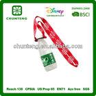 red strap bottle holder lanyards