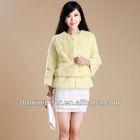 korean fur coat/women winter fur coat