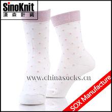 Gift Promotion Girls White Knee High Socks