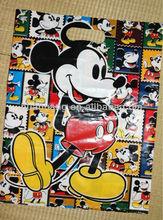 Reciclável de alta qualidade sacos de plástico Mickey mouse