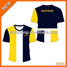 2013 fashion custom sport outdoors logo tshirt