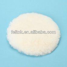 White polishing pad for metal