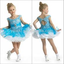 Ball Gown off the Shoulder Mini Lovely Heavy Beaded 2012 New Design Flower Girl Dress