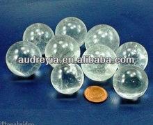 clear crystal ball sphere