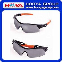 Orange Glasses Frame Sport Sunglasses