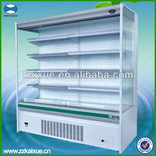Supermarket Cooler Fruits and Vegetable Display