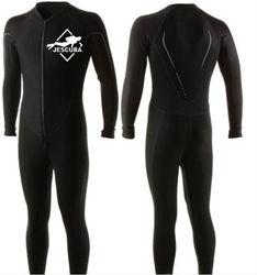 Men's Wetsuit Full Scuba Diving & Snorkeling Suit, Medium