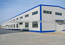 large span 7-36 meters and height 4-17 meters steel structure warehouse and steel construction warehouse and steel warehouse