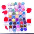 olors de moda brillante brillo de uñas consejos de arte de la decoración de acrílico uv gel