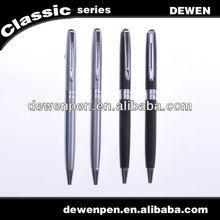 Dewen beautiful peal white twist mechanism ball pen