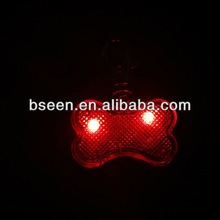 cute shape glowing accessories wholesale dog tags