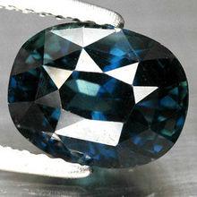 3.05 Ct. Unheated Natural Dark Blue Sapphire Gem