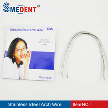 NITI Thermal Activated Dental Orthodontic Arch Wire dental consumables