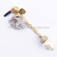 Fashion smartphone earphone jack dust plug , cute dust plug .phone dust plug