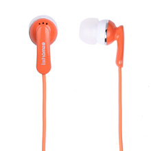 handsfree orange color for iphone 3.5mm