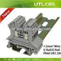 Nova utl jut1-1.5 1.5mm rohs cabo elétrico terminal de emenda