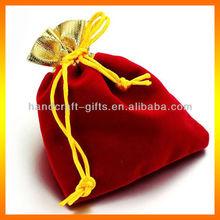 Custom High quality velvet wine bag