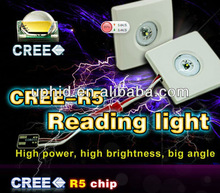 Hi-power&Big angel&Super brightness CREE-R5 240lm LED reading light