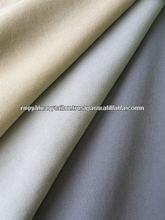 High class polyester poplin plain fabric made in Japan