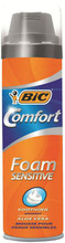 BIC COMFORT FOAM SENSITIVE 250 ML - exw price eur 0,91