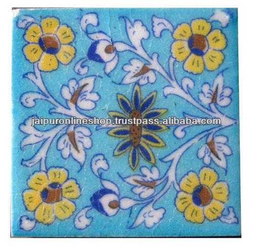 Very Best  Details: Handmade Blue Pottery Tiles , Blue Pottery Kitchen Tiles 500 x 490 · 106 kB · jpeg
