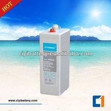 Longest life Solar battery Tubular Plate Gel Battery OPZV battery 2v 600ah
