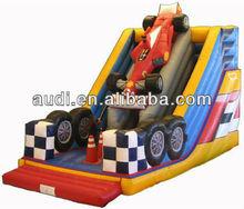 Formula 1 inflatable slide,pvc children slide,inflatable slip