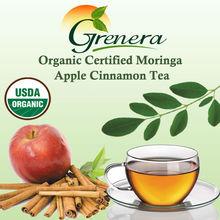 Organic Certified Moringa Apple Cinnamon Tea